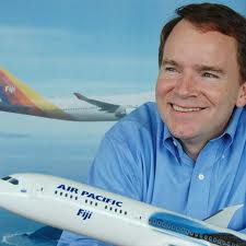 Team Pfleiger: Air Pacific's CEO ( Photo: Air Pacific)