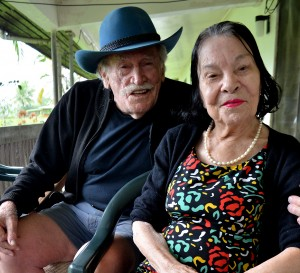 Ronald Gatty with his wife Janette at their home in Wainadoi (Photo:Fiji Sun)