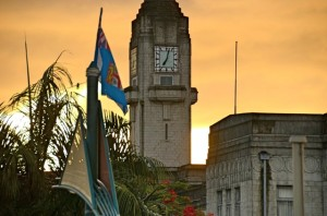 "Suva's ""Big Ben"". About to chime again.(Photo:Graham Davis)"
