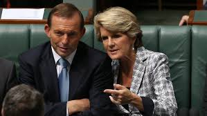 Change at last: Tony Abbott and Julie Bishop (Photo:News Limited)