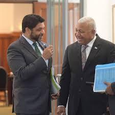 Aiyaz Sayed Khaiyum and Frank Bainimarama